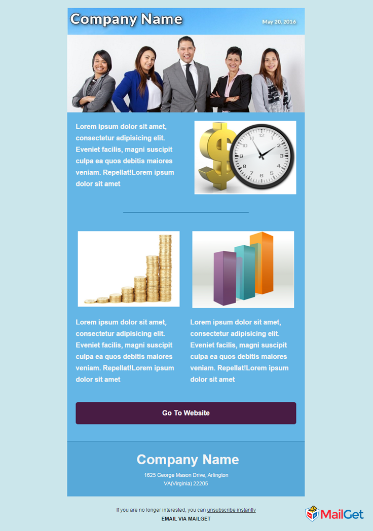 Business Email Template 7