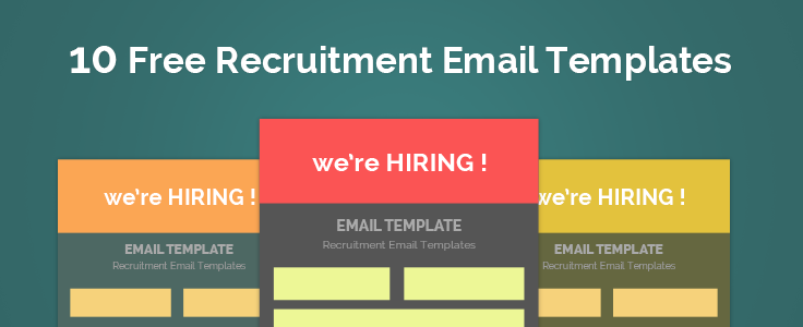 10 best  u0026 free job recruitment email templates