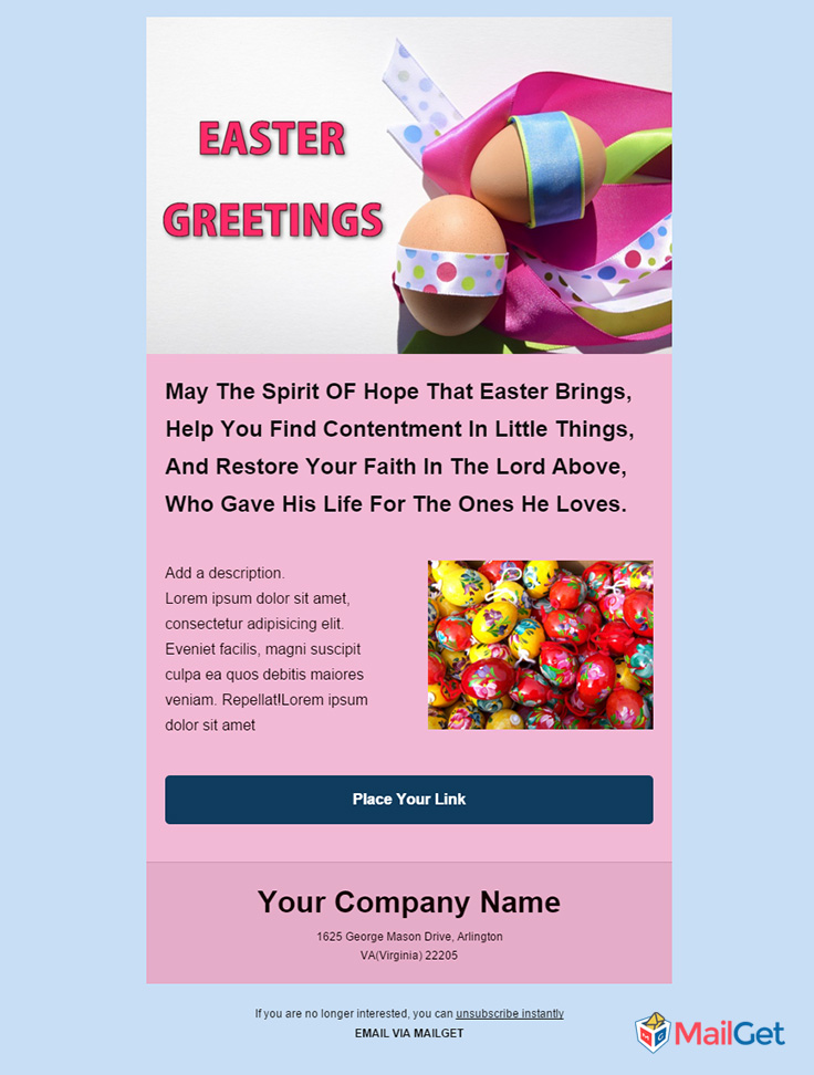 Holiday Email Template 3