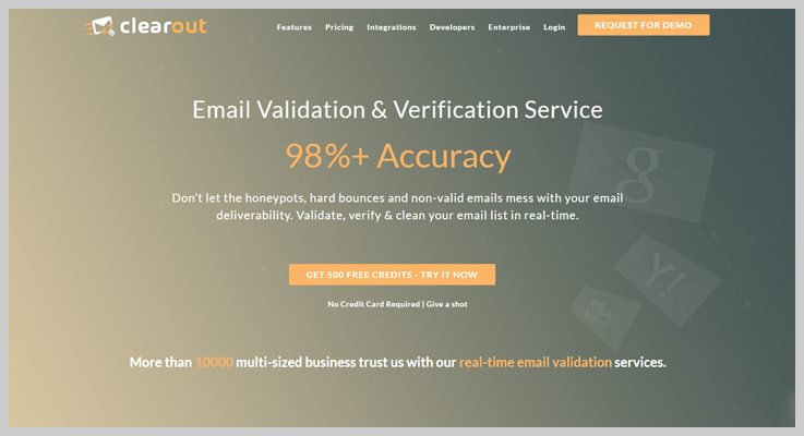 Clearout - Best Email Verification Services