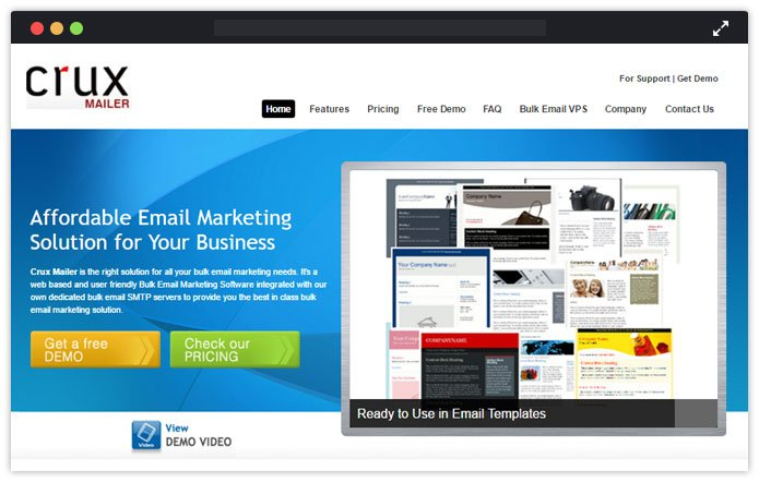 Crux-Mailer-email-marketing-service-providers-india-MailGet