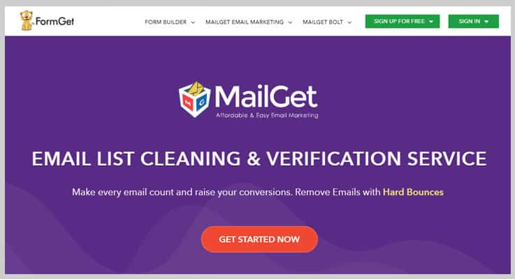 MailGet List Cleaning - Email Verification Services