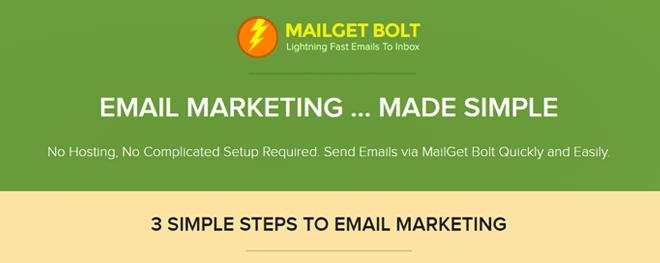 MailGet Bolt Email Marketing Software