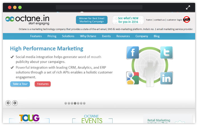Octane-email-marketing-service-providers-india-MailGet