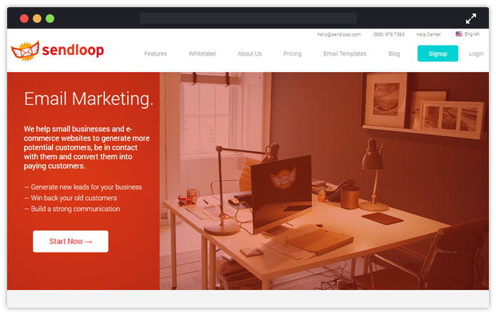 Sendloop Paid Email Service Provider