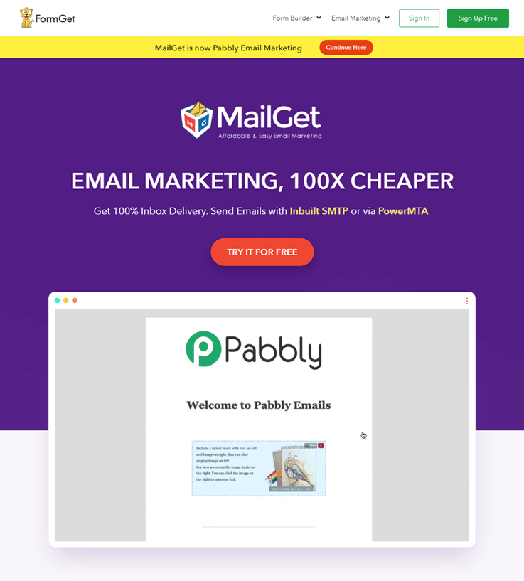 Mailget - Email Marketing Service
