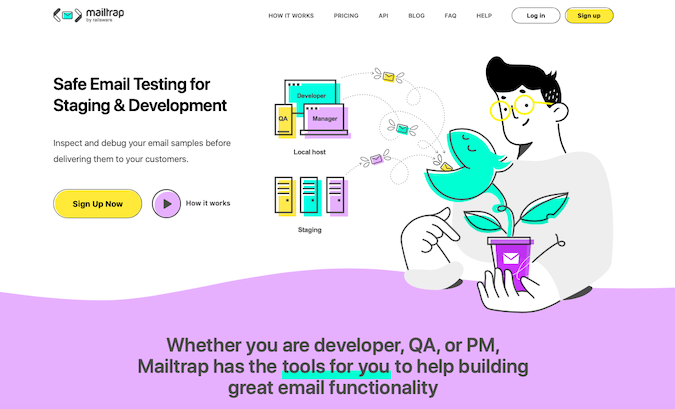 Mailtrap Email Monitoring Tool