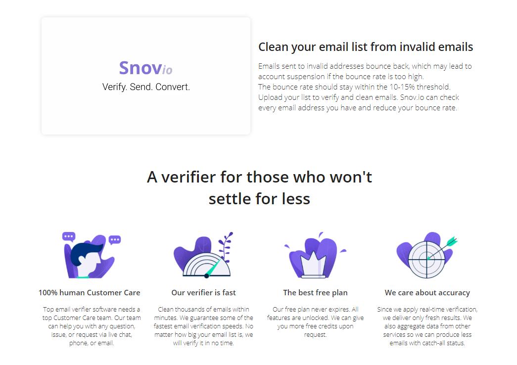 Snov.io - Email Verification Service