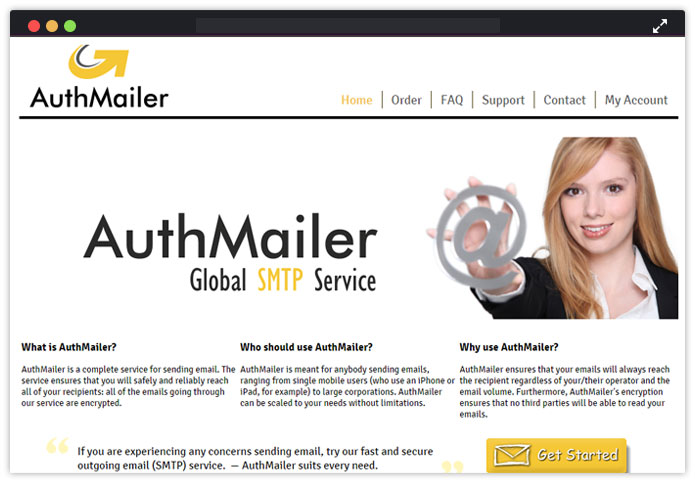 AuthMailer Best Transactional Email Service Provider