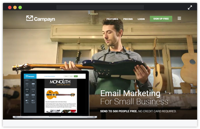 Campayn-email-marketing-service-for-lawyers-MailGet