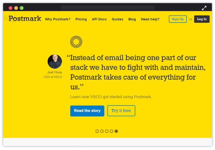 Postmark Best Transactional Email Service Provider