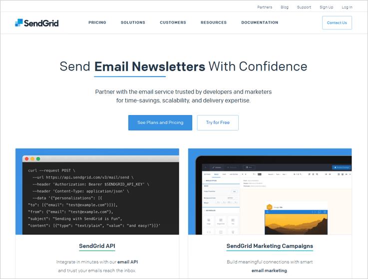 SendGrid Transcational Email Service Provider