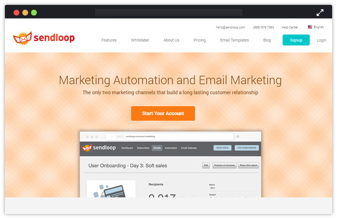 Sendloop-email-marketing-service-for-lawyers-MailGet