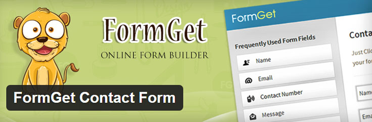 Best Contact Forms WordPress FormGet