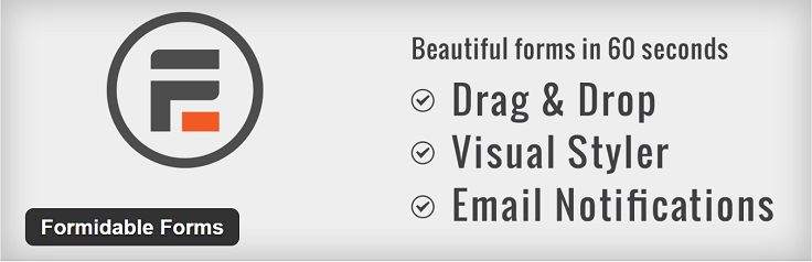 Best Contact Forms WordPress Formidable FormGet