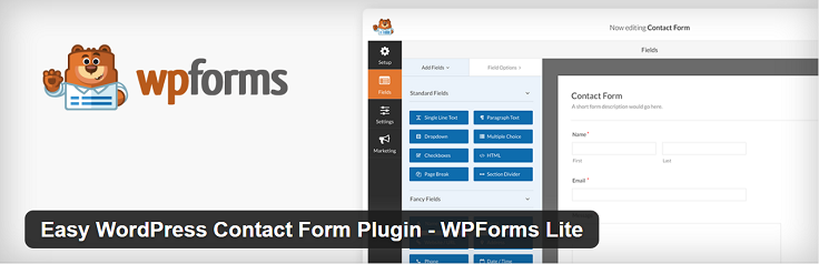 Best Contact Forms WordPress WP Form FormGet