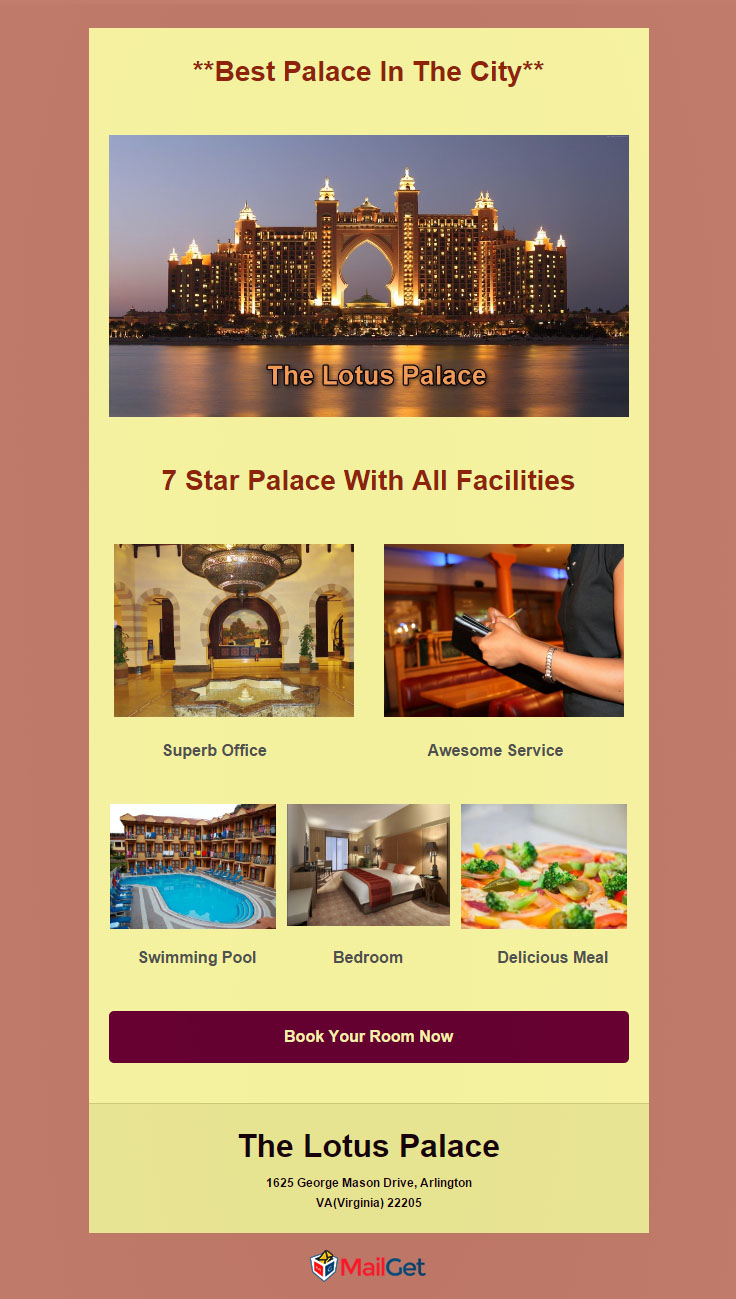 Free Hotel Email Marketing Templates 5