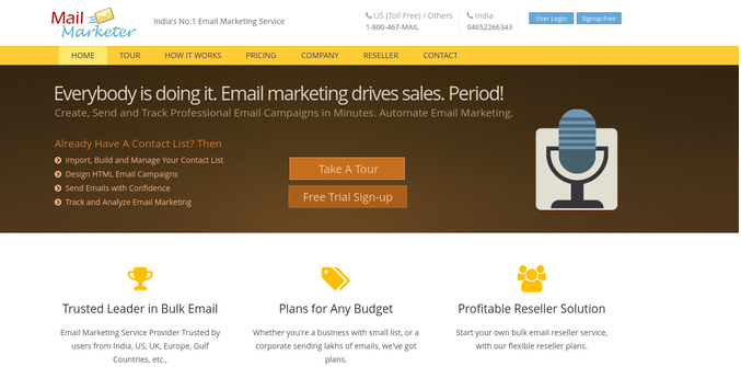 Mail Marketer Best Affordable Email Marketing Software For Small Business
