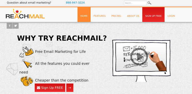 ReachMail Best Affordable Email Marketing Software For Small Business
