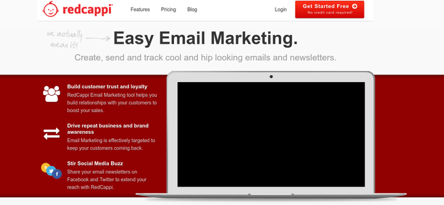 Redcappi Best Affordable Email Marketing Software For Small Business