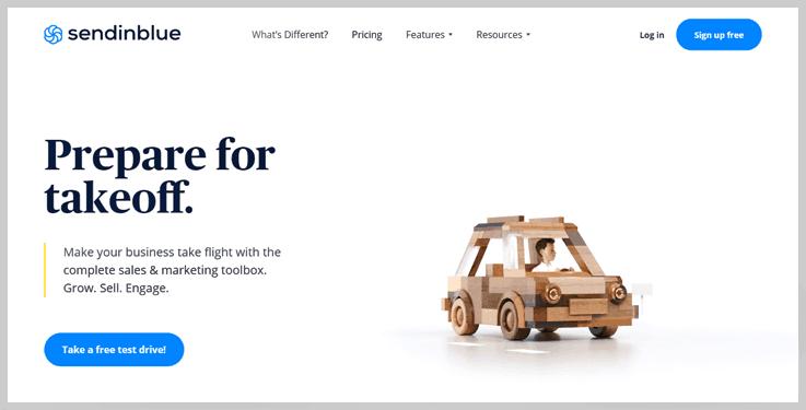 SendinBlue - Bulk Email Marketing Service