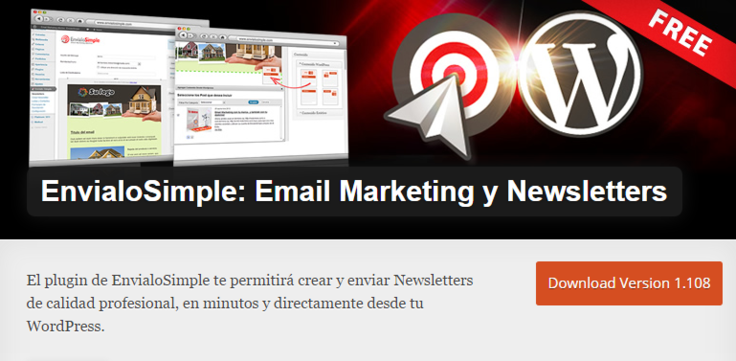 EnvialoSimple Best Free WordPress Newsletter Plugin Email Marketing