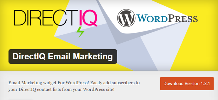 DirectIQ Best Free WordPress Newsletter Plugin Email Marketing
