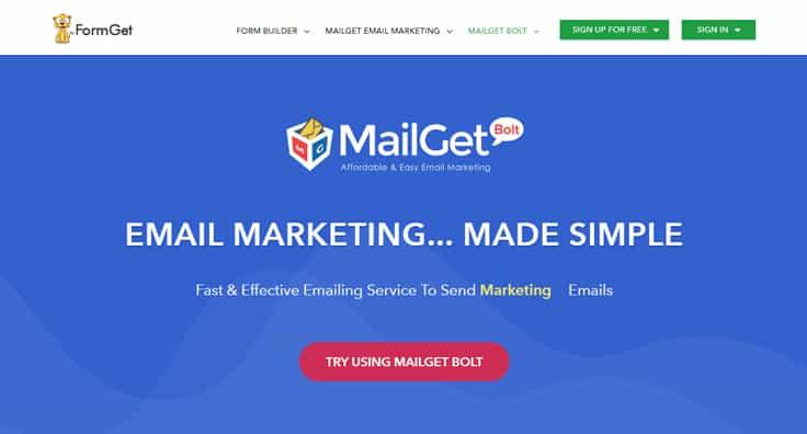 MailGet Bolt