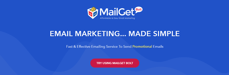 MailGet Bolt Email Marketing Service