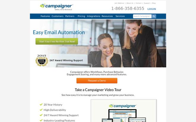 Campaigner - Aweber Alternatives