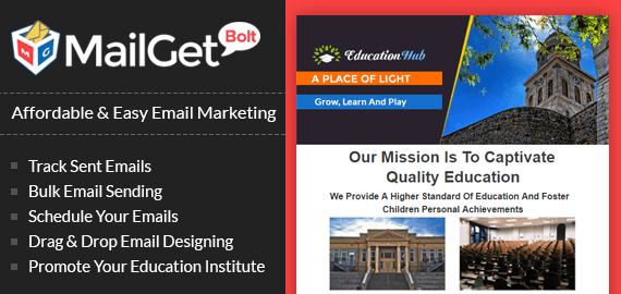 Email Marketing Service For Schools, Universities & Colleges
