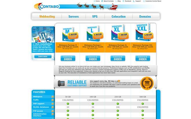 Contabo - Best Website Hosting Providers