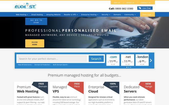 EUKhost - Best Website Hosting Providers