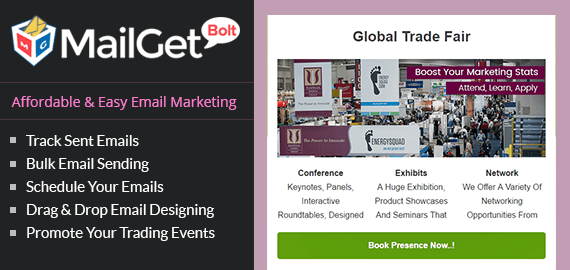 Email Marketing For Trade Shows Slider