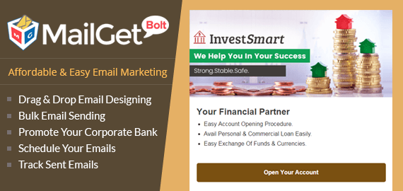Email Marketing for Corporate Banks Slider