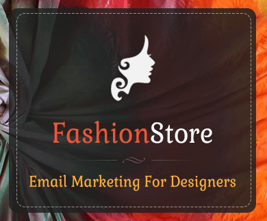 email template for fashion designers