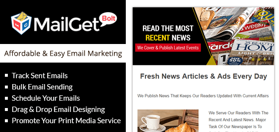 EMAIL MARKETING FOR NEWSPAPERS & PRINT MEDIA