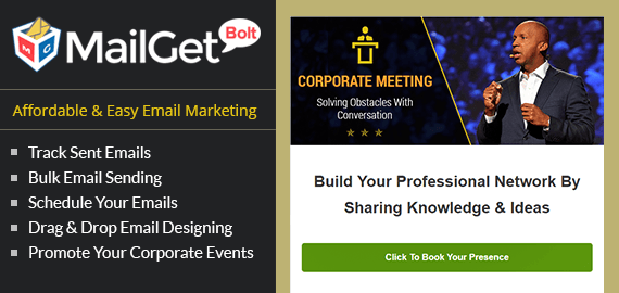 Email Marketing For Conferences Slider