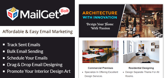 Email Marketing For Interior Decorators Slider