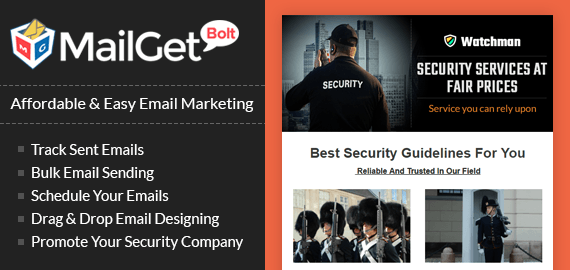Email Marketing For Security Companies
