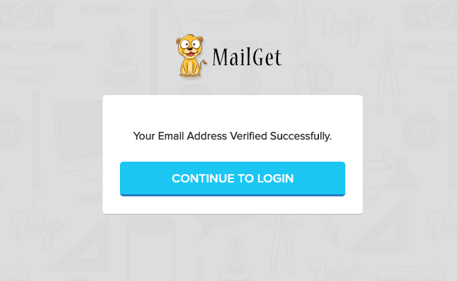 Setup MailGet Bolt Account