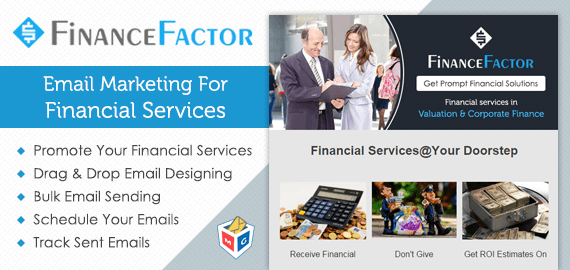 Email Marketing For Financial Services & Stock Brokerages