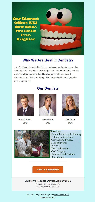 Email Marketing Service For Dentists & Dental Practitioner