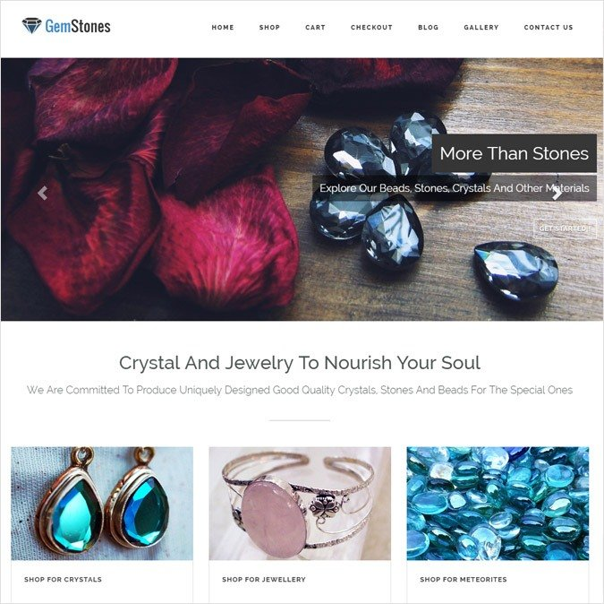 GemStones WP Theme