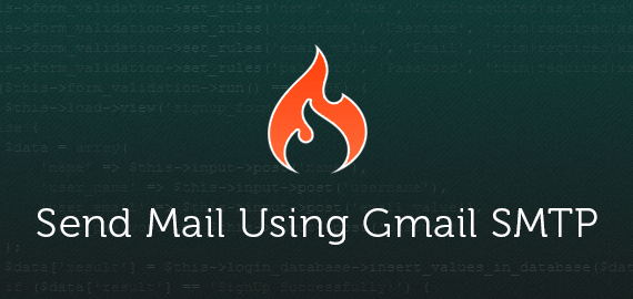 Send Email Newsletter Using Gmail SMTP Server