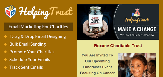 email marketing for charities slider image