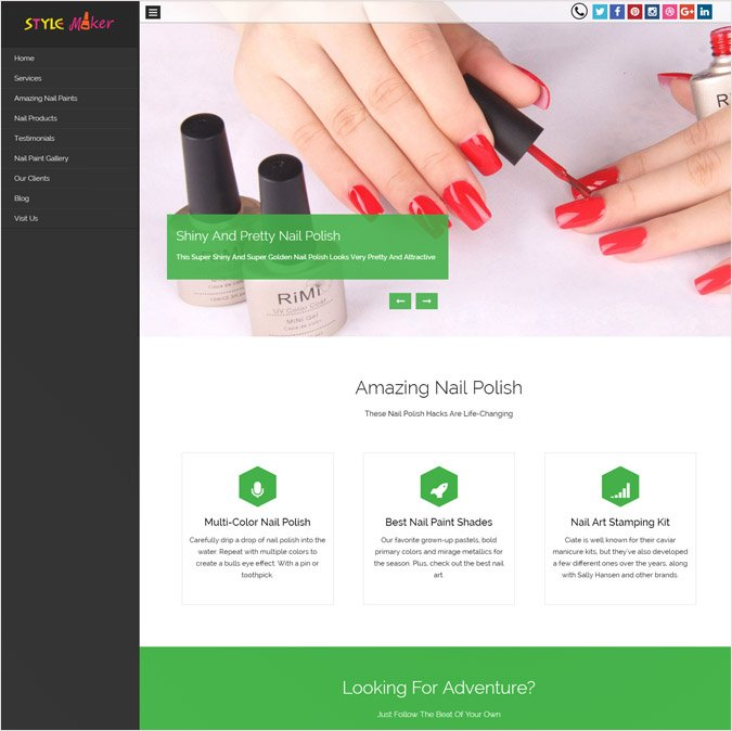StyleMaker WP Theme