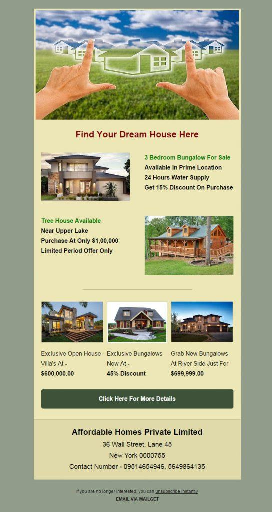 real-estate-email-marketing-service
