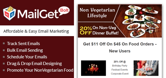 Email Marketing For Non Vegetarians