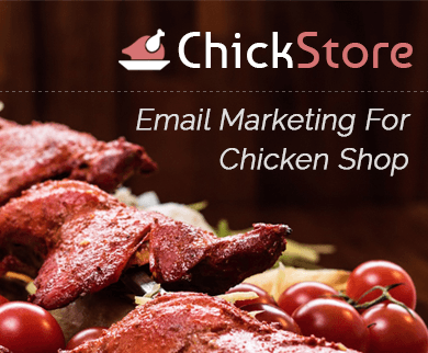 MailGet Bolt – Email Marketing For Chicken Shops, Chick Stores & Poultries